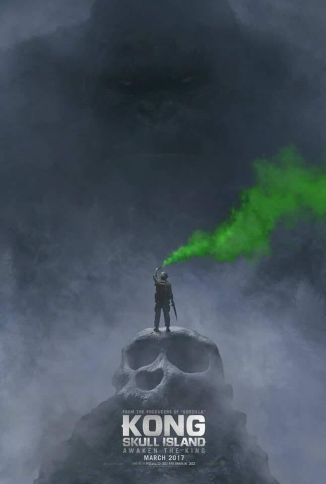 Первый трейлер и постер фильма «Кинг Конг: Остров черепа»