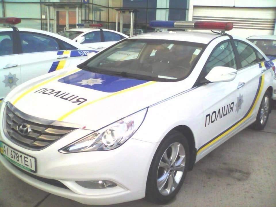 Столичные полицейские повредили 60 служебных авто с начала 2016 года