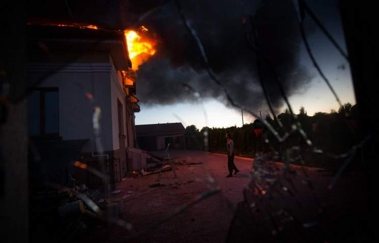 Ситуация в зоне АТО обострилась на Мариупольском направлении