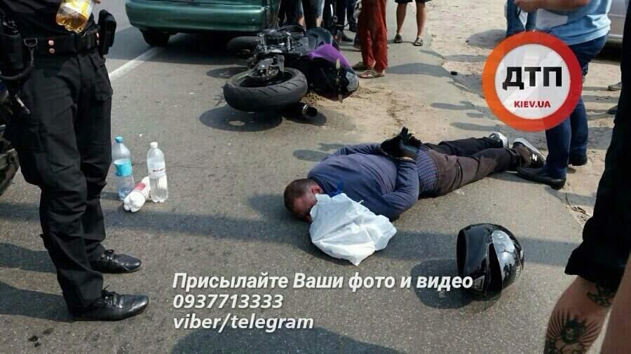 Под Киевом задержали грабителя авто