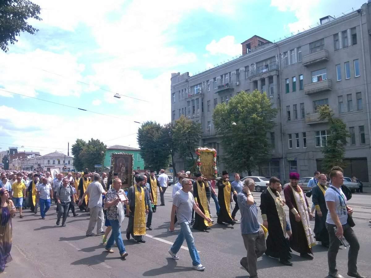Прямая трансляция Всеукраинского Крестного хода
