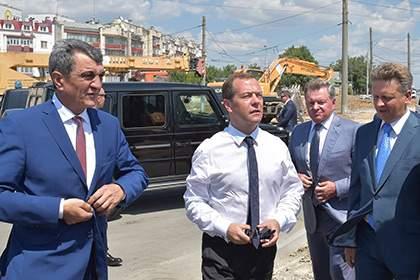 Киев направил Москве ноту протеста в связи с визитом Медведева