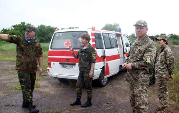 Медики-волонтеры выходят из зоны АТО в знак протеста из-за проблем с оформлением
