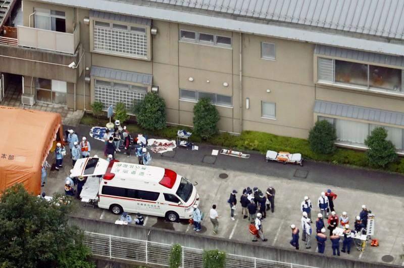 Ужасающая резня в Японии: 19 инвалидов погибли
