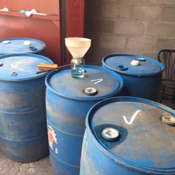 В Запорожье разоблачили подпольный водочный цех