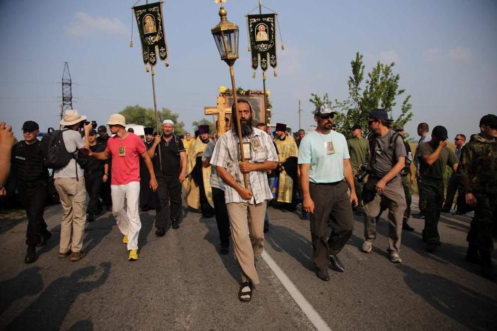 Деканоидзе посоветовала участникам Крестного хода доехать до Киева