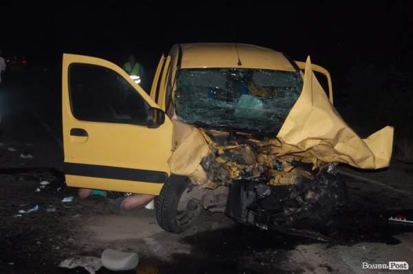 В Волынской области четыре человека погибли в результате ДТП