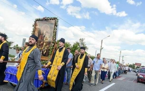 Пешего Крестного хода по столице не будет