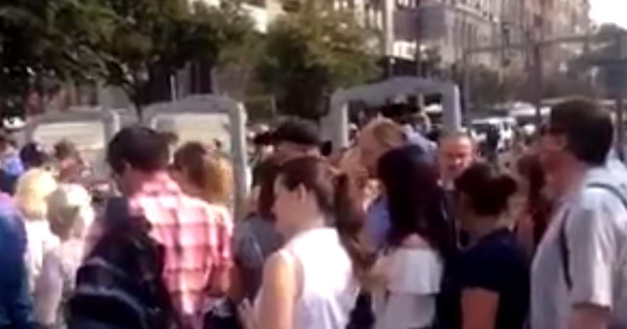 Жители Киева столкнулись с первыми проблемами из-за Крестного хода