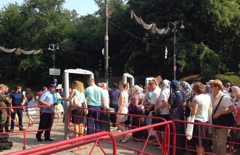 Крестный ход в Киеве. Прямая трансляция