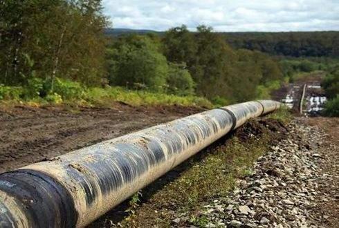 Под Киевом прорвало газопровод