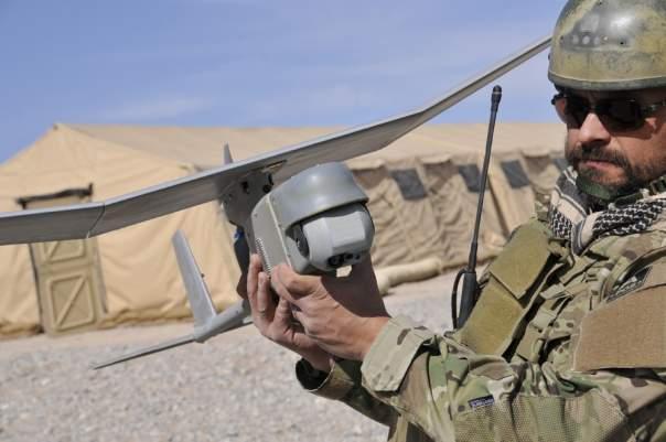 Украина получила американксие беспилотники