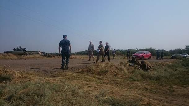 Савченко посетила военные учения Си-Бриз-2016