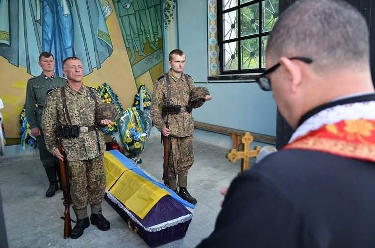 На Львовщине перезахоронили останки воинов дивизии СС