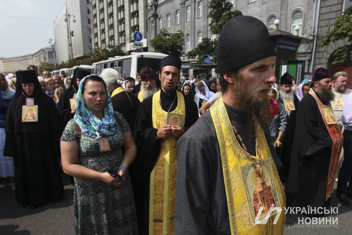 В Киеве завершился Крестный ход УПЦ