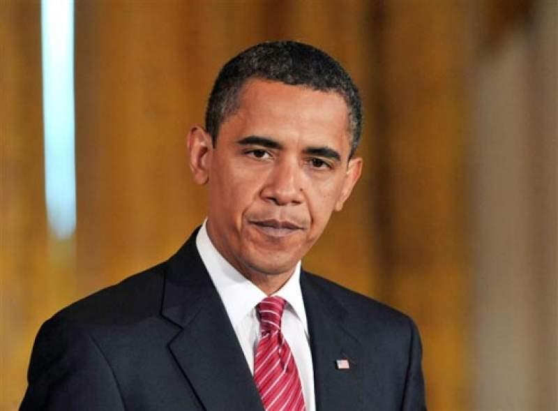 Самолет Барака Обамы попал в зону турбулентности