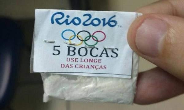 В Рио-де-Жанейро наркоторговцы использовали логотип Олимпиады-2016 для продажи кокаина