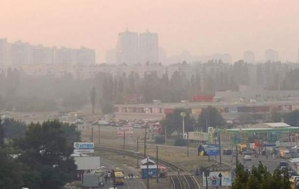 Воздух в Киеве остается загрязненный из-за жары-ГСЧС