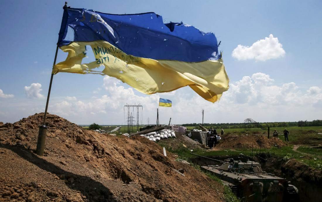 В зоне АТО за минувшие сутки погиб один украинский военный, еще один ранен