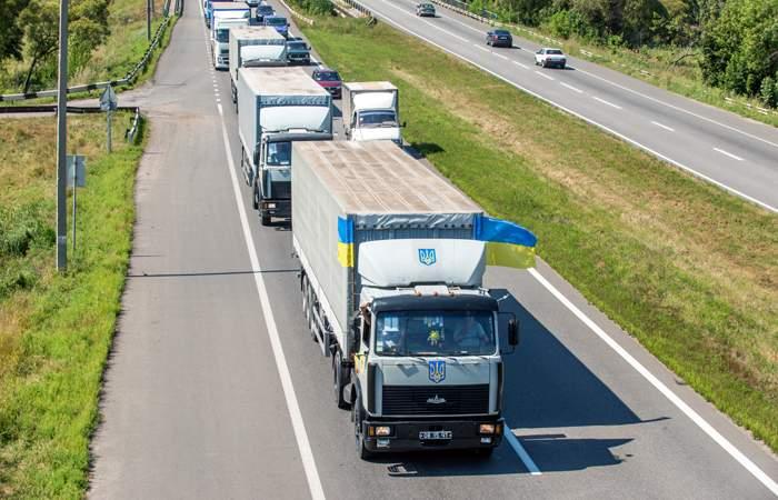 Украина призвала РФ отменить ограничения транзита