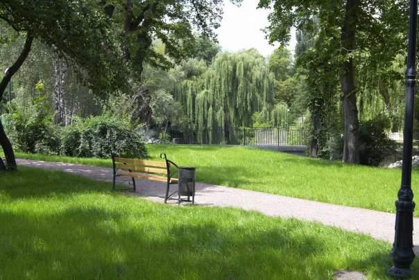 В столице появились 6 новых скверов и парк