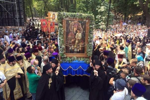 Участники крестного хода молили Св. Николая о прощении