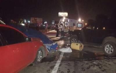 В Киеве произошло ДТП со стрельбой. Есть пострадавшие