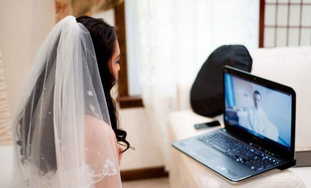В Италии признали брак влюбленных, которые заключили его по Skype