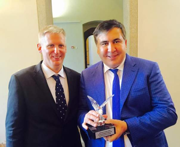 Саакашвили получил престижную награду