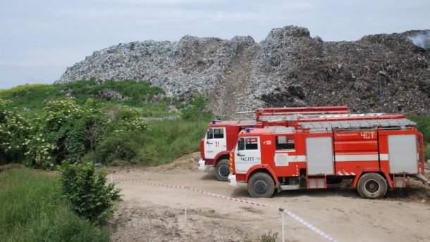 Пожар в селе большие Грибовичи удалось локализовать
