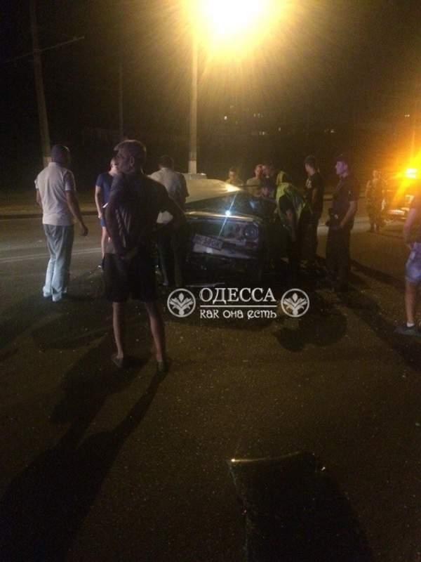 На Люстдорфской дороге Одессы произошло ДТП
