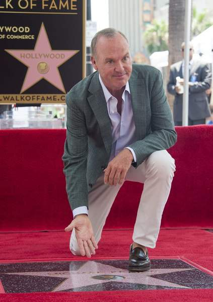 Майкл Китон  получил звезду на голливудской Аллее славы