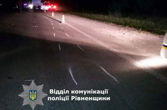 На трассе Киев-Чоп произошла смертельная авария