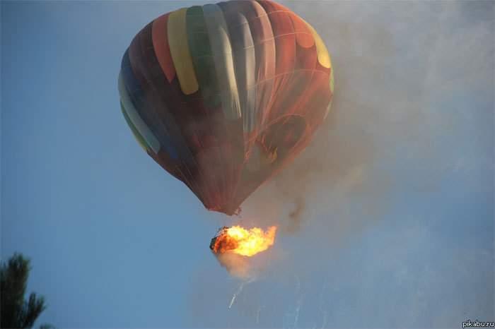 В Техасе во время полета на воздушном шаре погибло 16 человек
