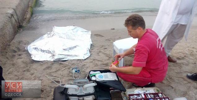 В Одессе на одном из пляжей обнаружили утопленника
