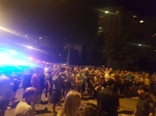 В Харькове пьяный водитель BMW насмерть сбил пешехода