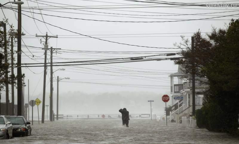 В Мэриленд в результате сильного наводнения были разрушены дома