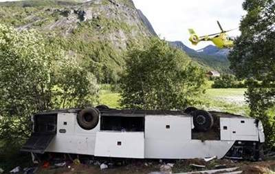 Известны подробности аварии автобуса в Норвегии с украинскими туристами