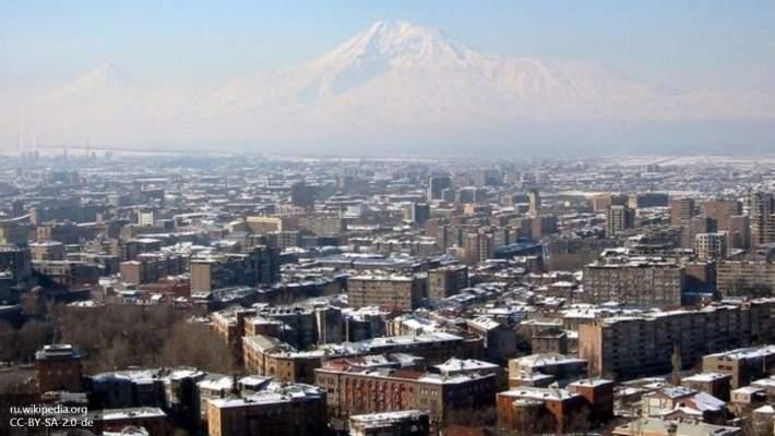 В Ереване группировка