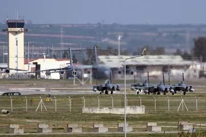На турецкой авиабазе приняли меры по усилению безопасности