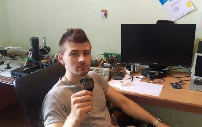 Украинский студент изобрёл часы-навигатор для бойцов АТО
