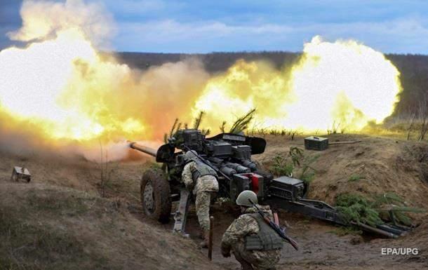 В тяжёлых боях на Донбассе ранены два бойца ВСУ
