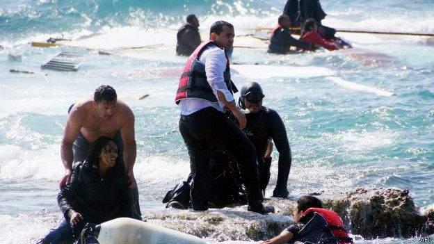 За месяц на берега Ливии вынесло 120 тел мигрантов