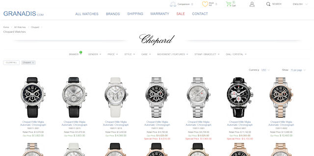Мода на фэшн-часы от Chopard