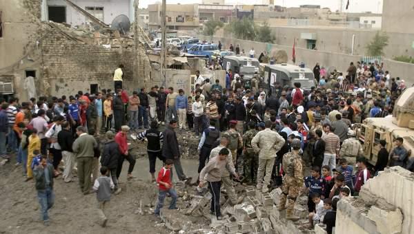 В Багдаде в результате взрыва пострадало более 300 человек