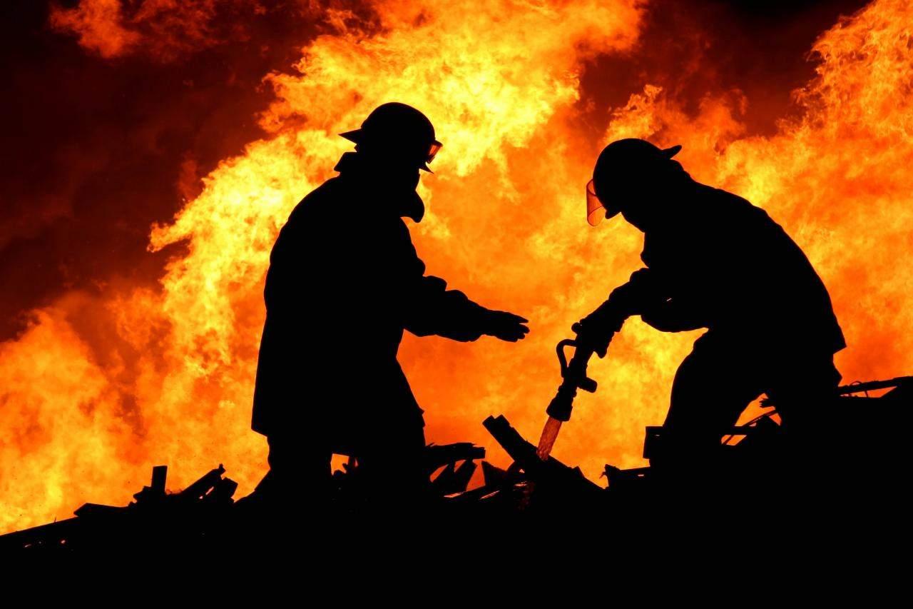 С начала года по всей Украине было ликвидировано почти 440 пожаров