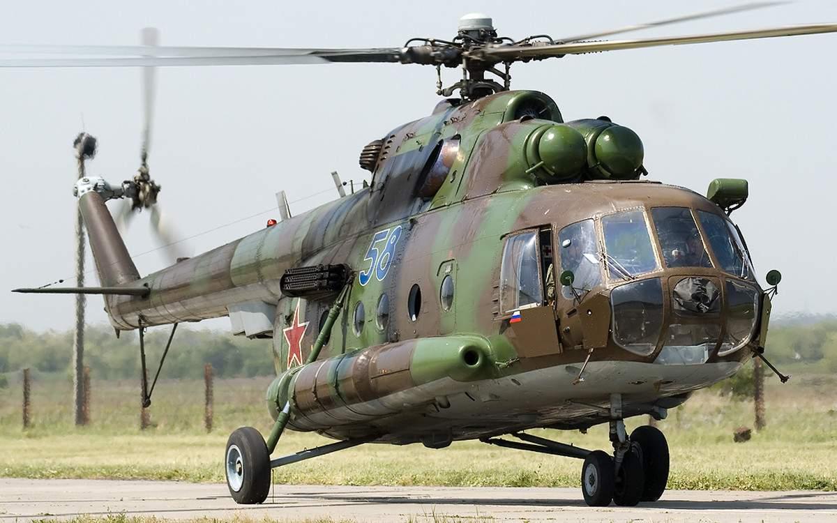 В Сирии сбили российский военный вертолет
