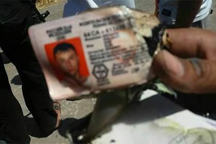 В сети обнародовали личные вещи экипажа сбитого в Сирии вертолета