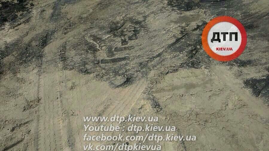 Ремонт дорог по-киевски