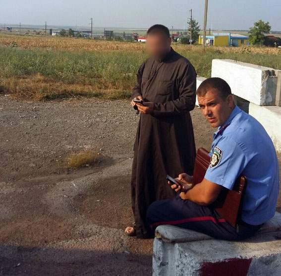В Донецкой области правоохранители обнаружили у священника гранатомет из зоны АТО